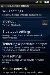 Sony Ericsson Xperia Mini Pro - Network - Usage across the border - Step 5
