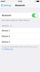 Apple iPhone SE - WiFi and Bluetooth - Setup Bluetooth Pairing - Step 5