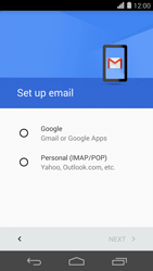 Huawei Ascend P7 - Email - 032a. Email wizard - Gmail - Step 7