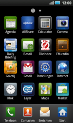 Samsung I5800 Galaxy Apollo - E-mail - Hoe te versturen - Stap 3