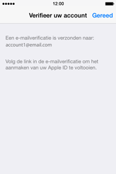 Apple iPhone 4s iOS 8 - Applicaties - Account aanmaken - Stap 26