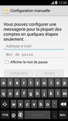 Bouygues Telecom Ultym 5 II - E-mails - Ajouter ou modifier un compte e-mail - Étape 5