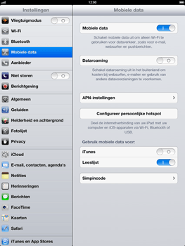 Apple iPad 4th generation - Internet - handmatig instellen - Stap 5