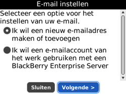 BlackBerry 8520 Curve - E-mail - Handmatig instellen - Stap 7