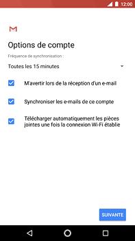 Nokia 6 (2018) - E-mail - Configuration manuelle (yahoo) - Étape 11