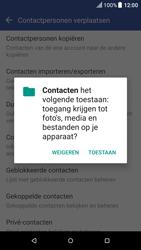 HTC One A9 - Android Nougat - Contacten en data - Contacten kopiëren van toestel naar SIM - Stap 7