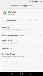 Huawei Nova - Applications - Supprimer une application - Étape 6