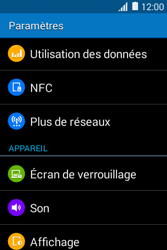 Samsung Galaxy Young 2 - Internet - Activer ou désactiver - Étape 4