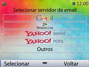 Huawei U6020 - Email - Como configurar seu celular para receber e enviar e-mails - Etapa 6