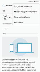 Samsung Galaxy S7 - Android N - WiFi - Mobiele hotspot instellen - Stap 9