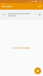 Samsung Galaxy S6 - Mensajería - Escribir y enviar un mensaje multimedia - Paso 4
