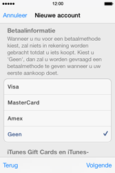 Apple iPhone 4 S iOS 7 - Applicaties - Account instellen - Stap 18