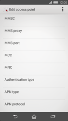 Sony Xperia Z2 (D6503) - MMS - Manual configuration - Step 14