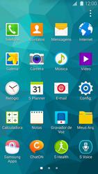 Samsung G900F Galaxy S5 - Rede móvel - Como ativar e desativar uma rede de dados - Etapa 3