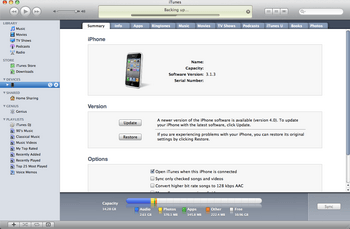 Apple iPhone 4 met iOS 5 - Software - Update installeren via PC - Stap 2
