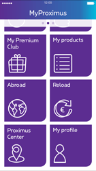Apple iPhone 6 iOS 8 - Applications - MyProximus - Step 18