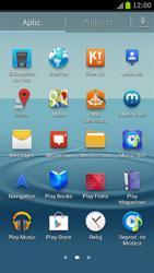 Samsung I9300 Galaxy S III - Mensajería - Configurar el equipo para mensajes de texto - Paso 3