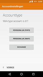 Crosscall Action X3 - E-mail - e-mail instellen: IMAP (aanbevolen) - Stap 10