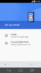 Huawei Ascend P6 LTE - E-mail - Manual configuration (gmail) - Step 8