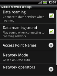 HTC A3333 Wildfire - Internet - Manual configuration - Step 6