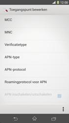 Sony Xperia Z1 4G (C6903) - Internet - Handmatig instellen - Stap 12