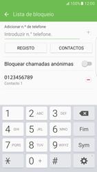 Samsung Galaxy S7 Edge - Chamadas - Como bloquear chamadas de um número -  11