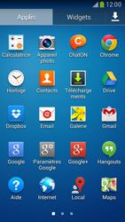 Samsung G386F Galaxy Core LTE - E-mail - envoyer un e-mail - Étape 2
