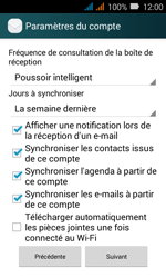 Huawei Y3 - E-mail - Configuration manuelle (outlook) - Étape 10