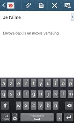 Samsung Galaxy Core Plus - E-mail - Envoi d