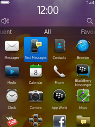 BlackBerry 9810 Torch - SMS - Manual configuration - Step 3
