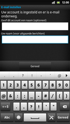 Sony LT26i Xperia S - E-mail - Handmatig instellen - Stap 17