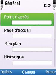 Nokia C5-00 - Internet - Configuration manuelle - Étape 22