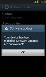 Samsung I8190 Galaxy S III Mini - Network - Installing software updates - Step 11
