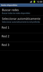 Samsung I8160 Galaxy Ace II - Red - Seleccionar una red - Paso 8