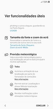 Samsung Galaxy S8 - Android Oreo - Primeiros passos - Como ligar o telemóvel pela primeira vez -  22