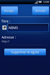 Sony Ericsson Xperia X8 - Internet - Navigation sur internet - Étape 13