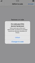 Apple iPhone 8 - iOS 13 - Sécurité - activéz le code PIN de l'appareil - Étape 6