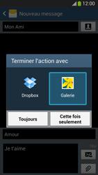 Samsung C105 Galaxy S IV Zoom LTE - MMS - envoi d'images - Étape 15