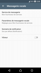 Sony Xperia XZ - Messagerie vocale - configuration manuelle - Étape 7