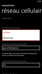 HTC Windows Phone 8X - Internet - activer ou désactiver - Étape 6