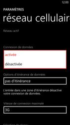 HTC Windows Phone 8X - Internet - Activer ou désactiver - Étape 6