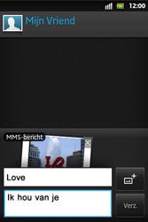 Sony ST27i Xperia Go - MMS - hoe te versturen - Stap 13