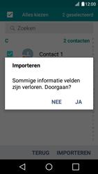LG K4 - Contacten en data - Contacten kopiëren van SIM naar toestel - Stap 10