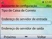 Huawei U6020 - Email - Como configurar seu celular para receber e enviar e-mails - Etapa 11