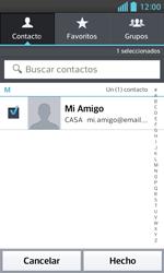 LG Optimus L5 II - E-mail - Escribir y enviar un correo electrónico - Paso 7