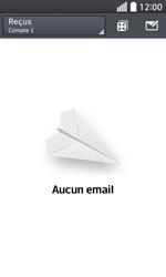 LG F70 - E-mails - Envoyer un e-mail - Étape 4