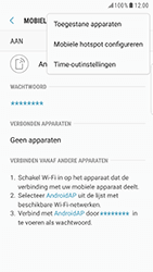 Samsung Galaxy S6 Edge - Android Nougat - WiFi - Mobiele hotspot instellen - Stap 8