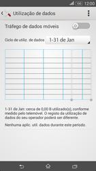 Sony Xperia E4 - Internet no telemóvel - Como ativar os dados móveis -  5