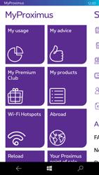 Microsoft Lumia 950 - Applications - MyProximus - Step 17