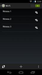 Acer Liquid Jade Z - WiFi et Bluetooth - Configuration manuelle - Étape 6